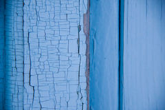 Cracks on the paint; Royalty Free Stock Image