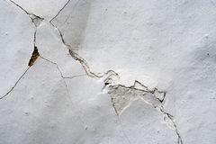 Cracks in plaster - Grunge Texture Royalty Free Stock Image