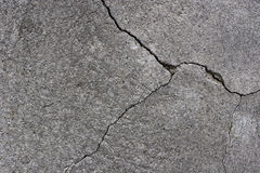 Cracks in the plaster of a wall Stock Photos