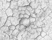 Cracks on the salt ground. Textured background for design Royalty Free Stock Photo