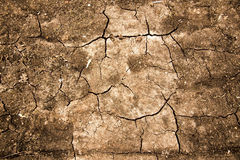 Cracks in sand Stock Photos