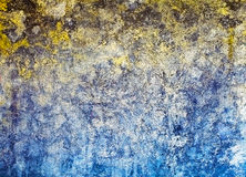 Cracks, stains and mold on plaster Royalty Free Stock Photography