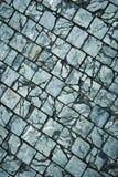 Cracks stone stone pavements Royalty Free Stock Image