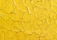 Cracks on surface of oil paint Royalty Free Stock Photo