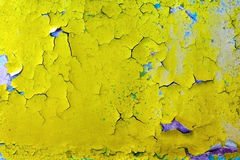Cracks on surface of old wall Royalty Free Stock Photography