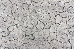 The cracks texture ground surface Royalty Free Stock Images