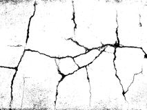 Cracks texture overlay. Vector background. Cracks texture overlay. Dry cracked ground texture. Cracked concrete wall texture. Abstract grunge white and black Stock Images