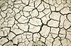 The cracks texture. Vector illustration with cracks in the ground and dust Stock Photo