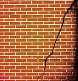 Cracks in the wall Royalty Free Stock Photos