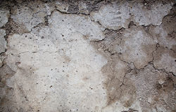 Cracks in a wall Stock Images