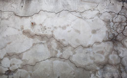 Cracks in a wall Royalty Free Stock Images