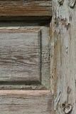 Cracks on wooden door texture Stock Photos
