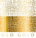Cracky surface. decorative antique illustration. Cracky surface. decorative antique textured vector illustration. gold luxury decay surface. cracked background Royalty Free Stock Photography