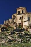 Craco abandonó el pueblo, Basilicata, Italia Imágenes de archivo libres de regalías