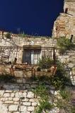 Craco abandonó el pueblo, Basilicata, Italia Foto de archivo libre de regalías