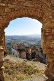 Craco Abandoned Village, Basilicata, Italy Stock Photos