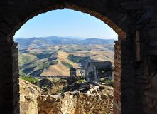 Craco abandoned village, Basilicata, Italy