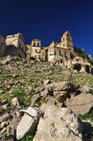 Craco abandoned village, Basilicata, Italy Royalty Free Stock Images