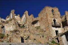 Craco abandoned village, Basilicata, Italy Stock Image