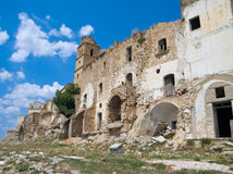 Craco. Basilicata. Stock Photos