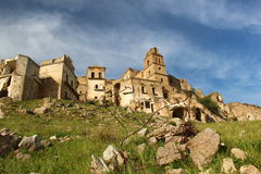 Craco, Basilicate Photos stock