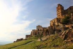 Craco, Basilicate photo libre de droits