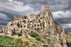 Craco, Italia imágenes de archivo libres de regalías