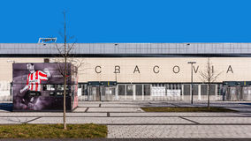 Cracovia橄榄球场  免版税库存照片