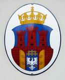 Cracovia, cappotto delle braccia Fotografia Stock