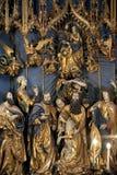 Cracovia - chiesa della st Mary - Polonia Fotografia Stock Libera da Diritti
