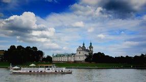 Cracovia - chiesa di St Michael l'arcangelo e la st Stanislaus Bishop e martire Immagine Stock