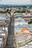 Cracovia Glowny, basilica del ` s di St Mary, Polonia Immagini Stock