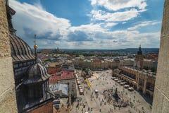 Cracovia Glowny, basilica del ` s di St Mary, Polonia Fotografie Stock