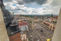 Cracovia Glowny, basilica del ` s di St Mary, Polonia Fotografia Stock Libera da Diritti