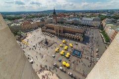 Cracovia Glowny, basilica del ` s di St Mary, Polonia Fotografie Stock Libere da Diritti
