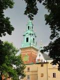 cracovia Il castello di Wawel Fotografia Stock