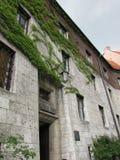 cracovia Il castello di Wawel Fotografie Stock