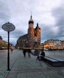 Cracovia (Kraków) en Polonia Imagen de archivo libre de regalías