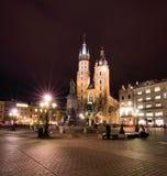 Cracovia (Kraków) en Polonia Imagenes de archivo