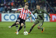 Cracovia - Legia Βαρσοβία Στοκ εικόνα με δικαίωμα ελεύθερης χρήσης