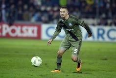 Cracovia - Legia Βαρσοβία Στοκ φωτογραφίες με δικαίωμα ελεύθερης χρήσης