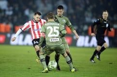 Cracovia - Legia Βαρσοβία Στοκ Εικόνες