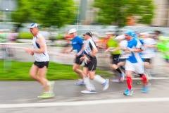 Cracovia Marathon. Stock Image