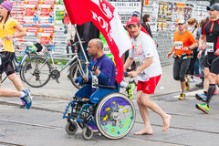 Cracovia Marathon. Royalty Free Stock Image