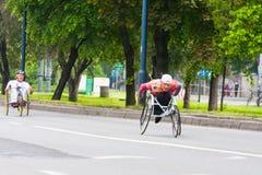 Cracovia Marathon. Royalty Free Stock Photography