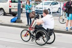 Cracovia Marathon. Royalty Free Stock Images