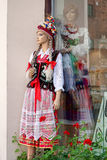 CRACOVIA, POLAND/EUROPE - 19 SETTEMBRE: Manichino in cos nazionale Immagini Stock