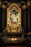 Cracovia, Polonia - 2 ottobre 2016 r Altare della st Stanislaus della t Immagine Stock Libera da Diritti