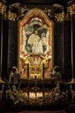 Cracovia, Polonia - 2 ottobre 2016 r Altare della st Stanislaus della t Immagini Stock