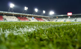 Cracovia stadium. The new stadium of cracov Royalty Free Stock Photo